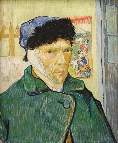 van Gogh, Selbstporträt mit verbundenem Ohr
