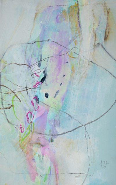Angelika Biber, Leichtigkeit im Bild durch Farbgebung