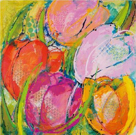 Ruth Alice Kosnick, Buch Flower Power in Acryl