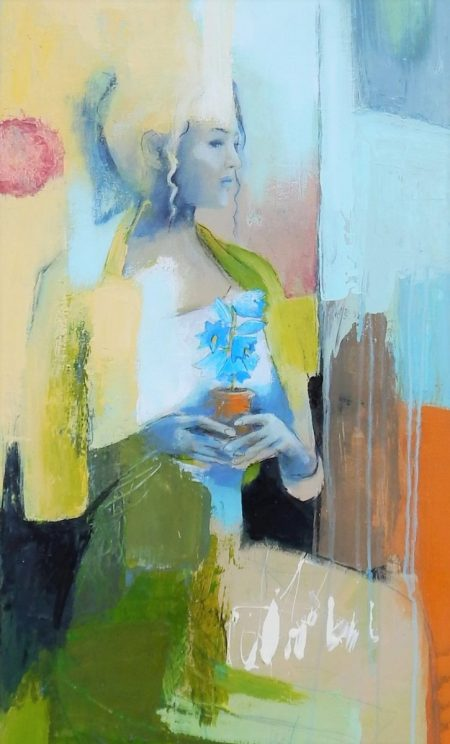 Kosnick, Inspiration, Ausschnitt, Acrylfarbe