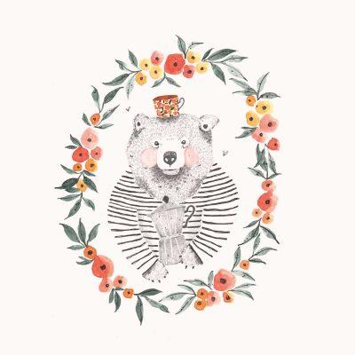 Sue Hiepler Post_Coffee Bear kl