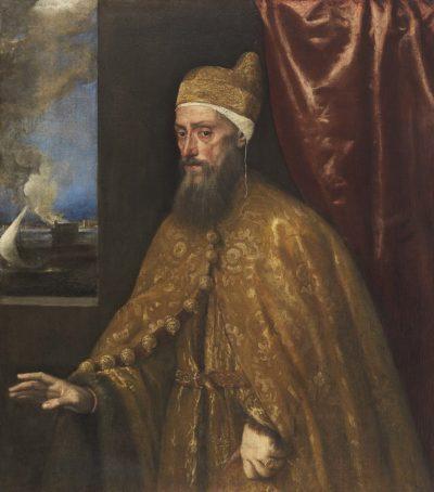 Tizian, Retrato del dux Francesco Venier, c.1554-1556. Madrid, Museo Nacional Thyssen-Bornemisza. © Museo Nacional Thyssen-Bornemisza. Madrid