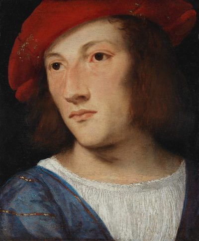 Tizian, Bildnis eines jungen Mannes, um 1510. Städel Museum, Frankfurt am Main. © Städel Museum – ARTOTHEK